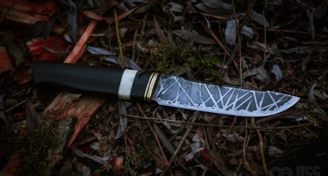 Кованый нож «Старый друг»
